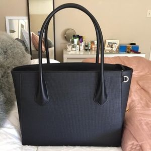 Dagne Dover Signature Tote - Legend Size in Onyx
